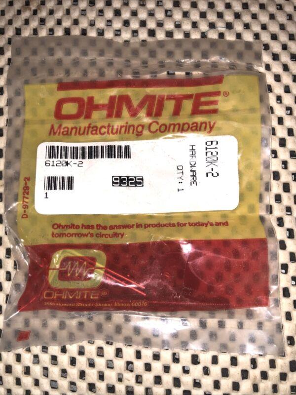 Ohmite wire wound resistor mounting kit 6120K-2 for 25-Watt resistors