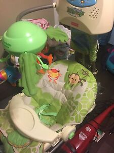 Rain forest fisher price swing