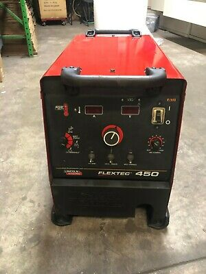Lincoln Flextec 450 Multi-process Welder K2882