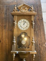 Vintage Linden? 31 Day Chime Wall Clock