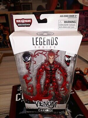 Marvel legends monster venom baf wave carnage cletus cassady symbiote
