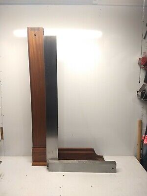 Starrett No 20-36 Master Precision Square With Wood Case