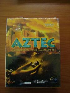 AZTEC avventura grafica incellofanata in italiano x PC, LUCASARTS punta e clicca - Italia - AZTEC avventura grafica incellofanata in italiano x PC, LUCASARTS punta e clicca - Italia