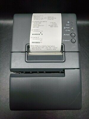 Epson M253a Tm-h6000iv 074 Pos Thermal Receipt Printer Usb Serial