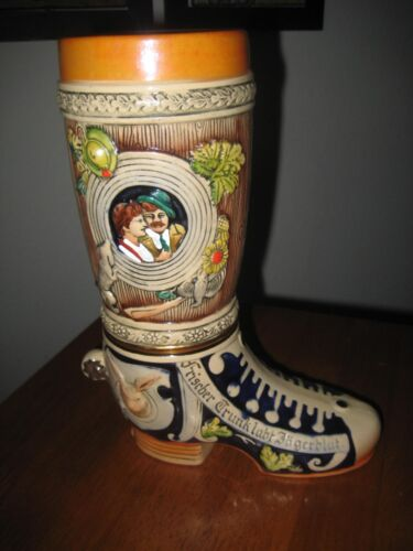 Boot Beer Stein Made In West Germany (RARE FIND)