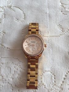 Montre Fossil - Fossil Watch - Rose gold stainless steel