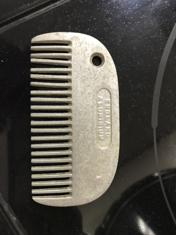Aluminum Pulling Comb for Horse Mane & Tail - Comb Grooming Tool