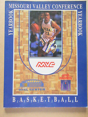 MISSOURI VALLEY CONFERENCE 1995 1996 MENS BASKETBALL MEDIA GUIDE YEARBOOK