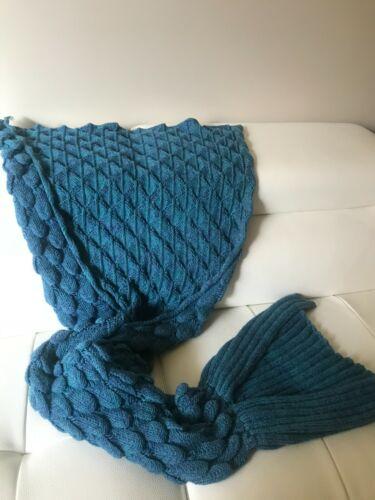 Mermaid tail wearable custom made blanket