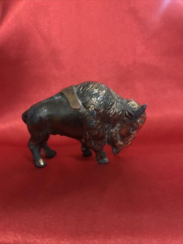 Buffalo Brass Statue