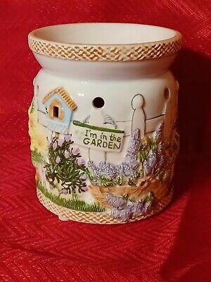 Yankee Candle In The Garden Tealight Tart Wax Warmer - Hard to Find