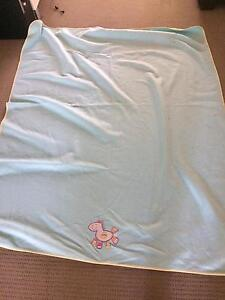 Baby fleece cot blankets  x2 Burleigh Waters Gold Coast South Preview