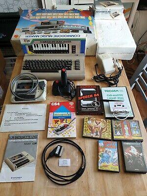 Commodore 64 C64 Breadbin 1984 Computer Compendium complete pack working VGC