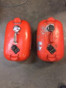 2  boat 5 gal gas cans