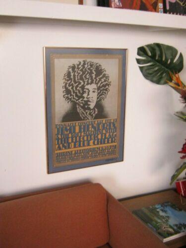 Hendrix LA Shrine concert poster 1968 printing
