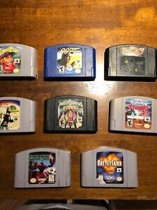 N64, Nintendo 64 games lot