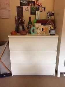 Near-new MALM Series Ikea Dresser Wollstonecraft North Sydney Area Preview