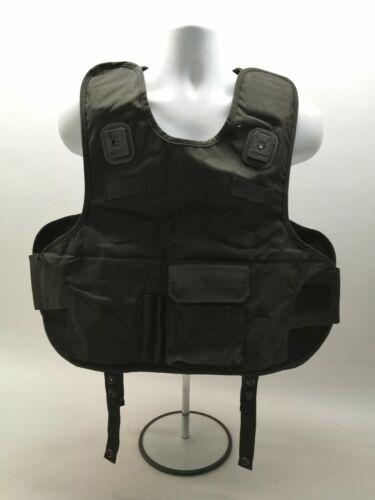 Ex Police Mehler Body Armour Cover Black Uniform Patrol Duty SIA Bouncer Theatre