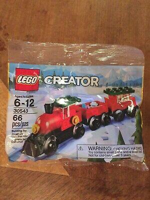 LEGO- CREATOR- CHRISTMAS TRAIN- POLYBAG- 30543- NEW