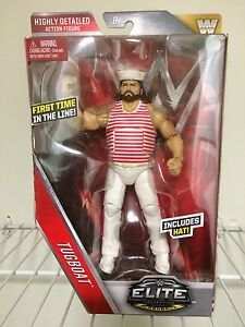WWE ELITE TUGBOAT WRESTLING ACTION FIGURE MATTEL
