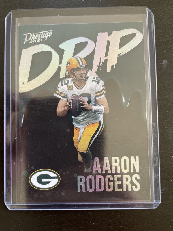 Aaron Rodgers DRIP 2021 Prestige Case Hit ND-AR Green Bay Packers GB SSP 🔥