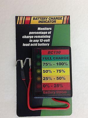 12V LED  RV WATER Battery Status - Charge Monitor BCI50 Indi