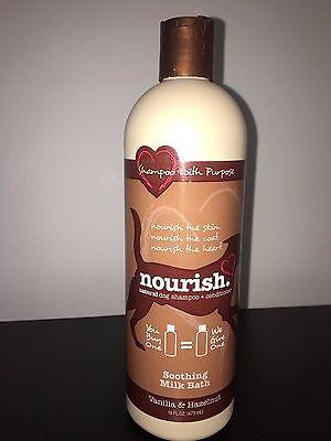 (Oster Shampoo Nourish Soothing Milk Bath Vanilla & Hazelnut 16oz)