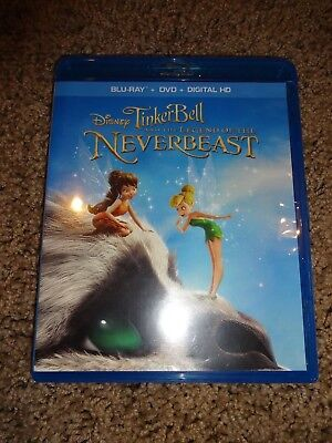 Tinker Bell & The Legend of the Neverbeast (NEW Blu-ray + DVD) NO DIGITAL COPY - Tinkerbell Movie