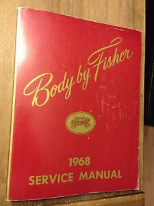 1968 Body by Fisher Service manual