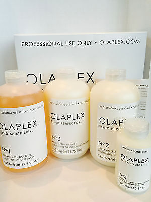 OLAPLEX SALON INTRO KIT FOR STYLIST PROFESSIONAL USE - STEP NO 1, 2 & 3 FULL SET