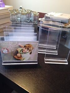 Wedding Clear pic frames for tables