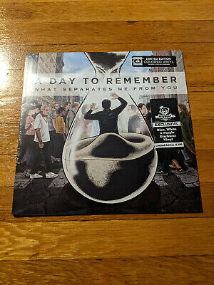 A Day To Remember - What Separates Me From You Blue White Purple Starburst Vinyl