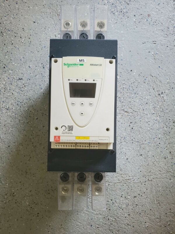 Schneider Electric ATS22C14S6U 50HP Motor Soft Starter.  Brand New Take Off.