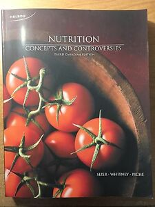 Nutrition Concepts and Controversies w access code - 3rd ed