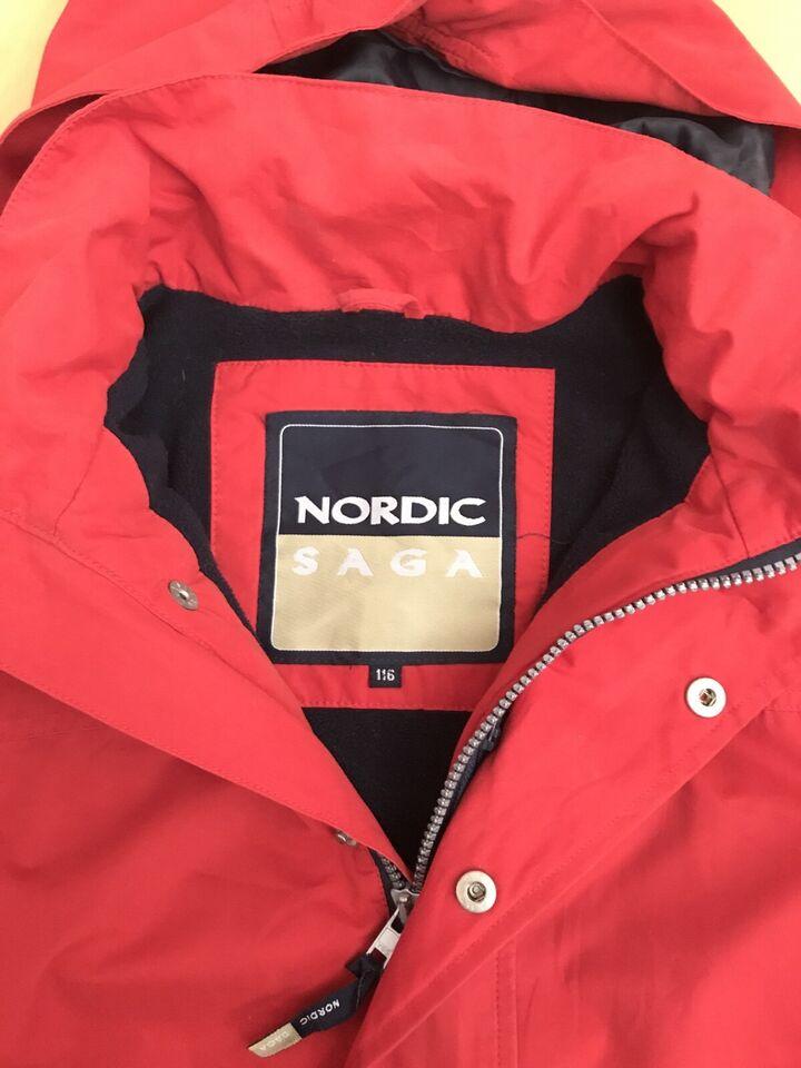 Übergangs Jacke Nordic Saga Gr. 116 in Drangstedt