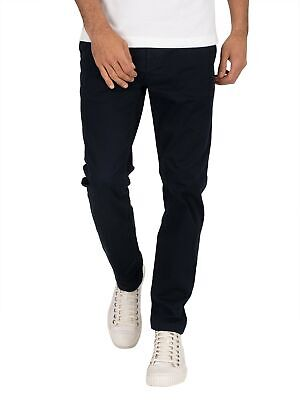 Superdry Men's Edit Slim Chinos, Blue
