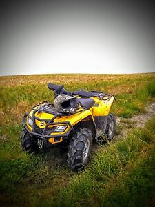 2011 can am outlander 800R
