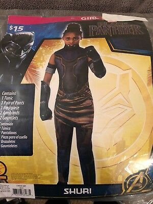 Cougar Halloween Costume (Halloween Costume Girls Black Panther Shuri Small, Medium or)