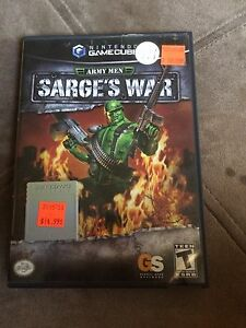 Army men. Sarge's war