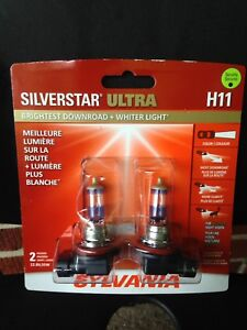 Silverstar Ultra H11 performance headlight bulbs...make offer
