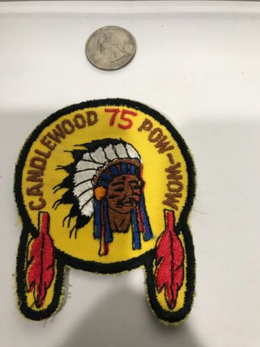 CANDLEWOOD 75 POW-WOW ..0Patch
