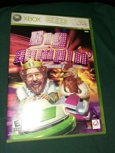 Xbox Reg/Live/360 Big Bumpin GAME Burger King 2006 Bumper Car NEW Rated E - $3.99
