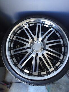 Mercedes 20inch wheels and tyres as new Clontarf Redcliffe Area Preview