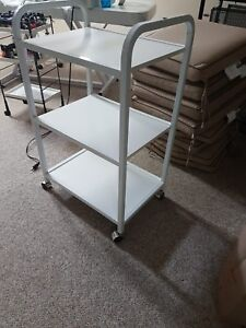 Professional Aesthetician Cart with wheels for Wax/Eyebrow Salon