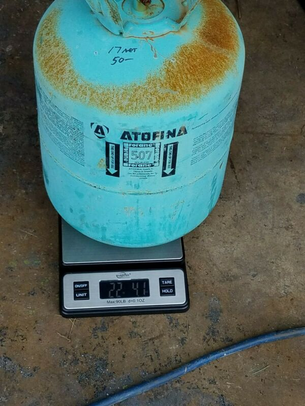 507 Refrigerant  Container 16 pounds Net