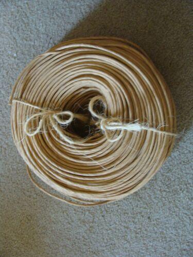 Basket / Seat Fiber Kraft Rush, 6/32-Inch 5.5-Pound Coil, Approxmately 550-Feet
