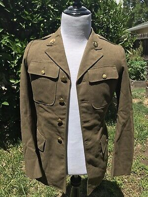 Ww2 AAC Army Air Corp Enlisted Uniform Size 36L