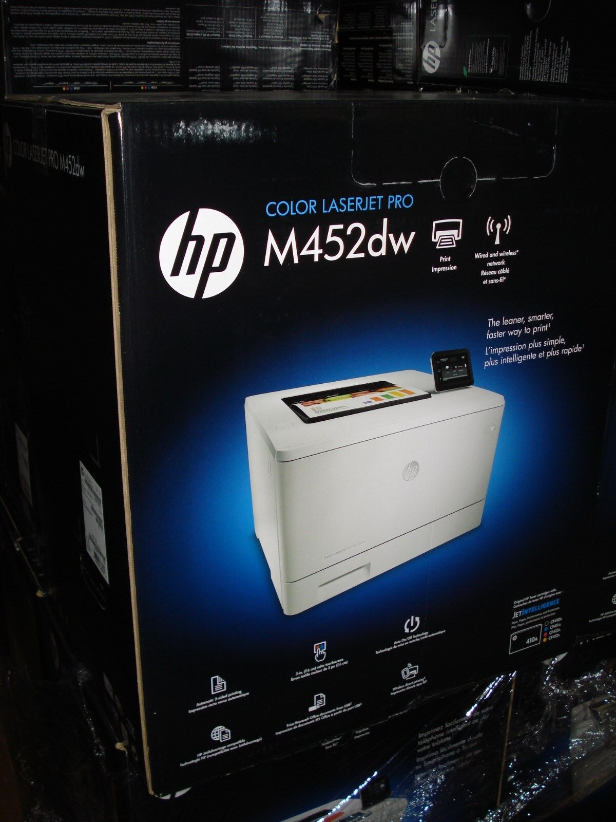 HP Color LaserJet Pro M452dw Print ,Wireless  # CF394A  BRAN