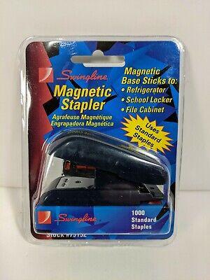 Swingline Magnetic Mini Stapler 79152 1000 Standard Staples - Dark Blue