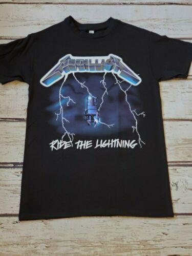 NEW - METALLICA - RIDE THE LIGHTNING - T-SHIRT